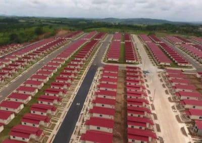 BioReactor dans une nouvelle zone résidentielle au Panama – l'eau est réutilisée