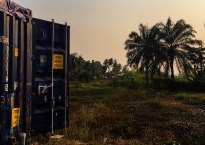 BioContainer en Sierra Leone