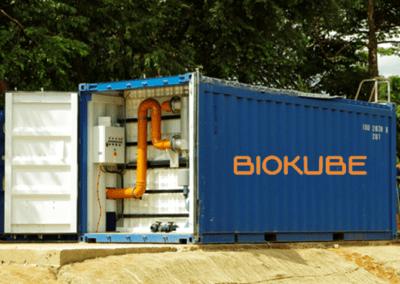 BioContainer en Guinée