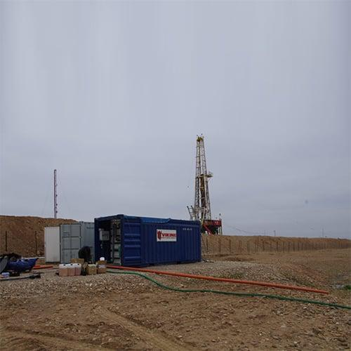 BioContainer – Containerized wastewater treatment plant at oilfiels in Iraq