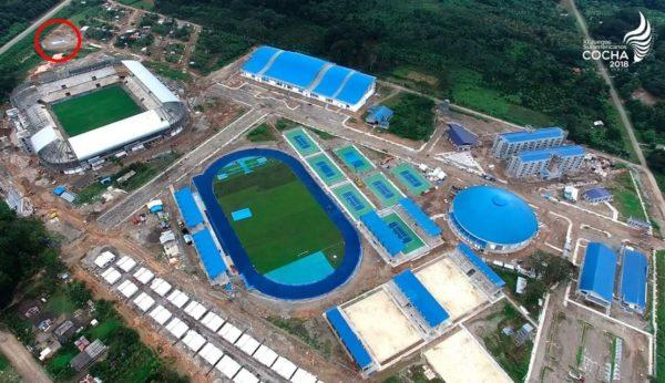 BioKube BioReactor system installed at new sporting complex in Bolivia