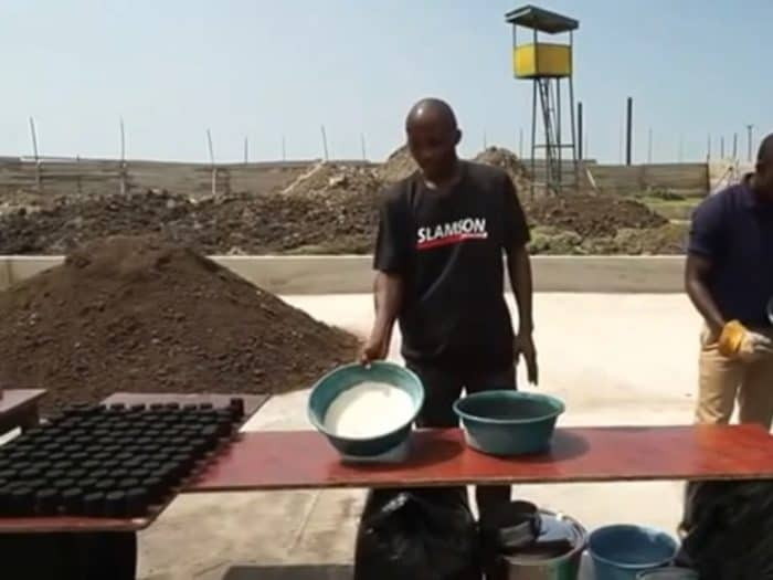 The sludge from a BioKube wastewater system can be reused for charcoal