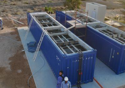 BioContainer à Oman – eau réutilisée