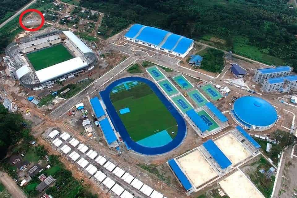 Olympic city wastewater system