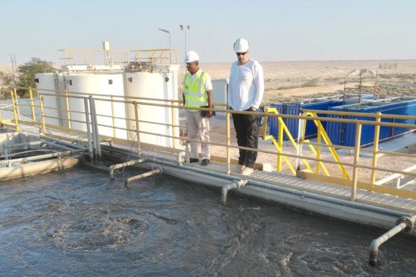 Reuse sludge at 2 x 40 foot BioContainer in Oman - 1
