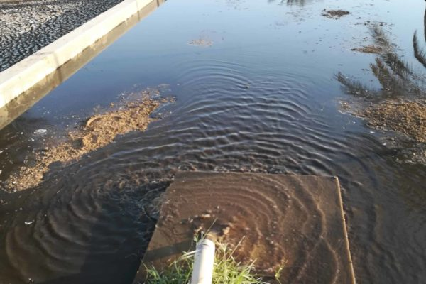 Sludge drying bed by 40 foot BioContainer in Oman - 2