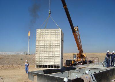 BioReactor sur un champ pétrolier au Yémen