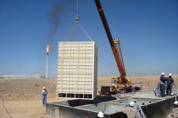 BioReactor at oilfield in Yemen for TOTAL - 7