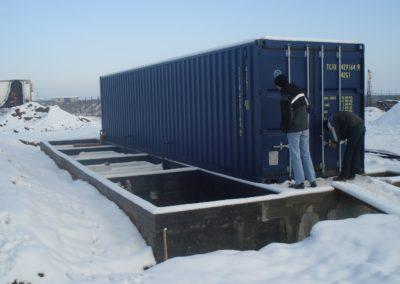 Système BioReactor à la fabrique de glaces en Roumanie